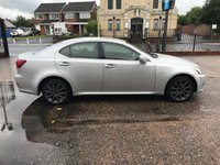 USED 2006 06 LEXUS IS 2.2 220D SE 4d 175 BHP 8 SERVICES-DIESEL-LEATHER-HEATED SEATS- ALLOY WHEELS