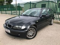 2003 BMW 3 SERIES 2.0 320D SE TOURING 5d 148 BHP ALLOYS CRUISE A/C MOT 02/20 £790.00