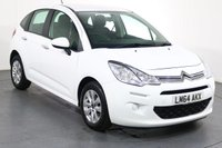 USED 2014 64 CITROEN C3 1.2 PURETECH VTR PLUS 5d 80 BHP 2 OWNERS From New