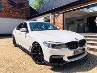 2017 BMW 5 SERIES 2.0 520D XDRIVE M SPORT 4d AUTO 188 BHP £25490.00