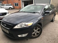 2009 FORD MONDEO 2.0 ZETEC TDCI 5d 140 BHP ALLOYS CRUISE BLUETOOTH A/C MOT 11/19 £990.00