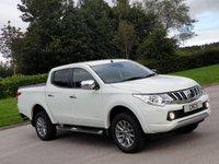 USED 2016 66 MITSUBISHI L200 2.4 DI-D 4WD WARRIOR DCB 1d 178 BHP
