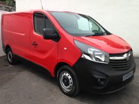 USED 2014 64 VAUXHALL VIVARO 1.6 2700 L1H1 CDTI - NO VAT NO VAT  NO VAT - NEW SHAPE VIVARO - PX/FINANCE/WARRANTY