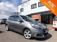 USED 2012 62 RENAULT SCENIC 1.6 DYNAMIQUE TOMTOM VVT 5d 110 BHP