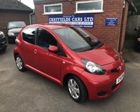 USED 2011 61 TOYOTA AYGO 1.0 VVT-I ICE 5d 68 BHP ONLY 51K MILES, £20 ROAD TAX