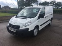 USED 2016 16 PEUGEOT EXPERT 1.6 HDI 1000 L1H1 PROFESSIONAL 1d 90 BHP