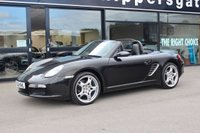 "USED 2006 06 PORSCHE BOXSTER 2.7 24V TIPTRONIC S 2d AUTO 240 BHP Basalt Black Porsche Boxster 987 Tiptronic S, Full Service History, 19"" Carrera S Wheels, Automatic Air Conditioning, CDC-4 Six Disc CD Autochanger, BOSE Surround Sound, Wind Deflector, Top Tint Windscreen, Floor Mats With Leather Surround and Logo, Book Pack Receipt File and Spare Key"