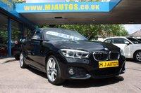 2017 BMW 1 SERIES 1.5 116D M SPORT 5dr AUTO 114 BHP £14995.00
