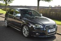 USED 2008 58 AUDI A3 2.0 S3 TFSI QUATTRO 5d 261 BHP SERVICE HISTORY, HEATED SPORTS LEATHER SEATS, BLUETOOTH, REAR PRIVACY GLASS,