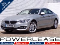 USED 2014 14 BMW 4 SERIES 2.0 420D XDRIVE LUXURY 2d AUTO 181 BHP HEATED SEATS SATNAV XENONS FSH