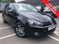 USED 2009 09 VOLKSWAGEN GOLF 1.4 SE TSI 5d 121 BHP FULL MAIN DEALER SERVICE HISTORY