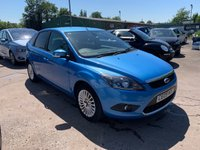 USED 2009 09 FORD FOCUS 1.6 TITANIUM 5d 100 BHP FREE 12 MONTH AA ROADSIDE RECOVERY INCLUDED