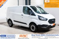 2018 FORD TRANSIT CUSTOM 2.0 300 BASE L1 H1 104 BHP * NEW SHAPE * DELIVERY MILES £13895.00
