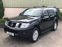 USED 2012 NISSAN PATHFINDER 2.5 DCI TEKNA 5d 188 BHP LEATHER, SAT NAV, REVERSE CAMERA, 7 SEATS