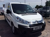 USED 2016 16 CITROEN DISPATCH SWB 1.6 1000 L1H1 ENTERPRISE HDI 89 BHP 1 OWNER FSH NEW MOT AIR CON FREE 6 MONTH AA WARRANTY INCLUDING RECOVERY AND ASSIST NEW MOT EURO 5 AIR CONDITIONING SATELLITE NAVIGATION ELECTRIC WINDOWS AND MIRRORS CRUISE CONTROL TWIN SIDE LOADING DOORS REAR PARKING SENSORS BLUETOOTH