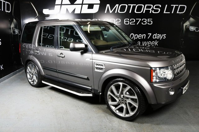 2009 LAND ROVER DISCOVERY 4 3.0 TDV6 HSE AUTO 245 BHP (FINANCE AND WARRANTY)