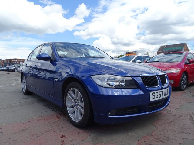 USED 2007 57 BMW 3 SERIES 2.0 320D SE LONG MOT GOOD SERVICE
