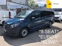 USED 2016 16 MERCEDES-BENZ VITO XLWB 8 Seat 1.6 109 BLUETEC TOURER PRO *29,000 Miles*