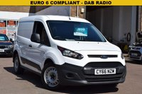 USED 2017 66 FORD TRANSIT CONNECT 1.5 220 P/V 1d 100 BHP 2017 EURO 6 COMPLIANT Ford Transit connect in white with just 26000 miles.