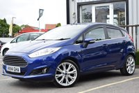 USED 2014 14 FORD FIESTA 1.0 TITANIUM X 5d 124 BHP SUPERB EXAMPLE WITH FULL SERVICE HISTORY INCLUDING 5 SERVICE STAMPS, ONE FORMER KEEPER WE ALSO HAVE 2 KEYS