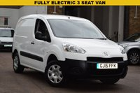 USED 2015 15 PEUGEOT PARTNER 0.0 SE L1 1d AUTO 48 BHP Quite a rare 2015 Peugeot Partner SE L1 ELECTRIC VAN in white. 1 owner with service history and 2 keys.