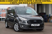USED 2018 68 FORD TRANSIT CONNECT 1.5 200 LIMITED TDCI 1d 119 BHP A EURO 6 COMPLIANT October 2018 Ford Transit connect 1.5tdci 120 200 L1 LIMITED in grey metallic.