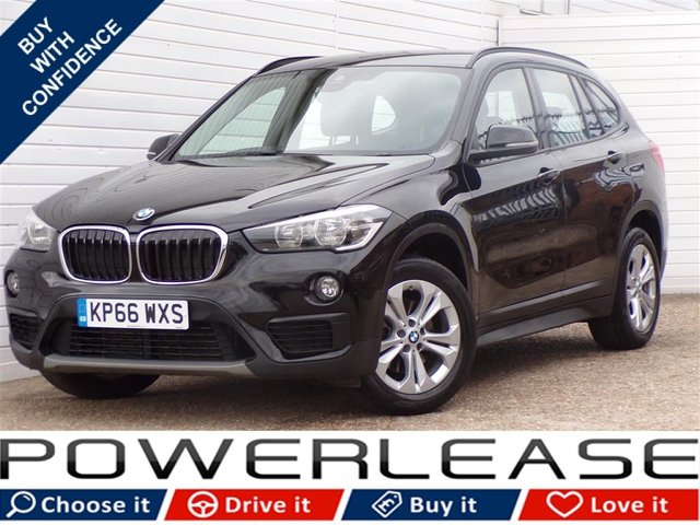 USED 2016 66 BMW X1 2.0 SDRIVE18D SE 5d 148 BHP 20POUNDTAX SATNAV DAB FSH