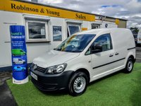 USED 2015 15 VOLKSWAGEN CADDY 1.6 C20 TDI STARTLINE BLUEMOTION TECHNOLOGY 1d 101 BHP