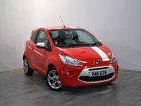 2011 FORD KA 1.2 GRAND PRIX 3d 69 BHP £3820.00