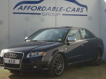 2005 AUDI A4 4.2 S4 QUATTRO 4d 339 BHP £4750.00