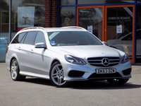 USED 2013 63 MERCEDES-BENZ E CLASS 2.1 E250 CDI AMG Sport 5dr 7G-Tronic ** Sat Nav + Half Leather **
