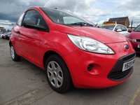 2009 FORD KA 1.2 STUDIO LOW MILES GREAT COLOUR £2395.00