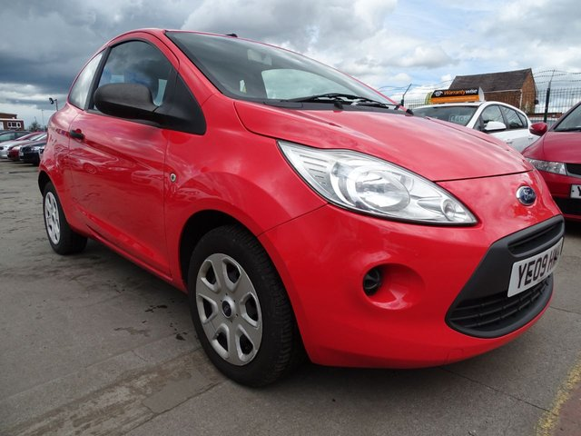 USED 2009 09 FORD KA 1.2 STUDIO LOW MILES GREAT COLOUR
