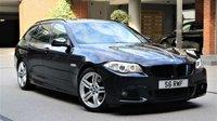 2011 BMW 5 SERIES 2.0 520D M SPORT TOURING 5d AUTO 181 BHP £10750.00