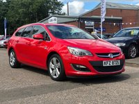 USED 2012 VAUXHALL ASTRA 1.6 SRI 5d 113 BHP FRONT AND REAR PARKING AID *  CRUISE CONTROL +   17 INCH ALLOYS +  SERVICE RECORD + FULL YEAR MOT +