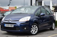 USED 2009 09 CITROEN C4 PICASSO 1.6 VTR PLUS HDI 5STR 5d 108 BHP SUPERB EXAMPLE WITH A  FULL SERVICE HISTORY INCLUDING 7 SERVICE STAMPS  WE ALSO HAVE 2 KEYS