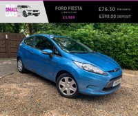 USED 2011 11 FORD FIESTA 1.2 EDGE 3d 81 BHP 2 PREVIOUS OWNERS FULL SERVICE HISTORY AIR CON ELEC WINDOWS LOW TAX & INS