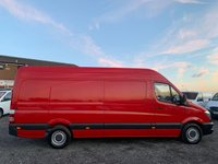 USED 2013 63 MERCEDES-BENZ SPRINTER 2.1 313 CDI LWB FACELIFT HIGH ROOF LWB, FACELIFT, ONE OWNER, FULL DEALER HISTORY,PLY LINED