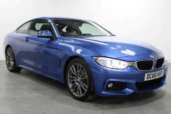 2016 BMW 4 SERIES 2.0 420D XDRIVE M SPORT 2d AUTO 188 BHP £17895.00