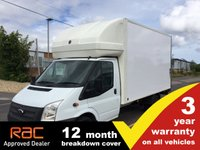 USED 2014 14 FORD TRANSIT LUTON 2.2 350 LWB EF DRW RWD 125ps w/Taillift