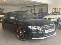 USED 2015 15 AUDI RS4 AVANT 4.2 RS4 AVANT FSI QUATTRO LIMITED EDITION 5d AUTO 444 BHP PAN ROOF+BUCKETS SEATS+FASH