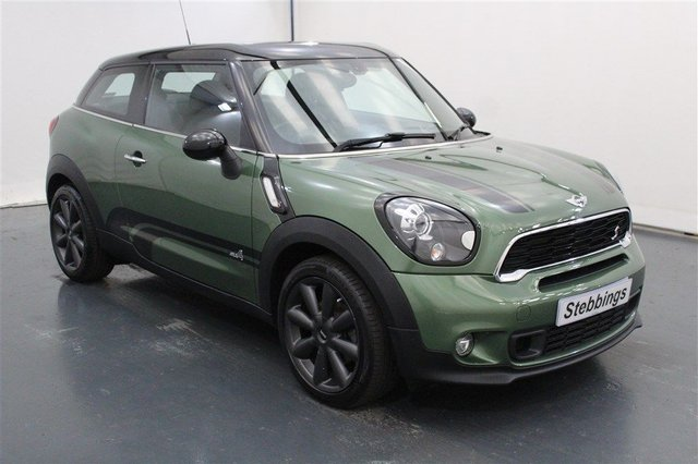 View our MINI PACEMAN