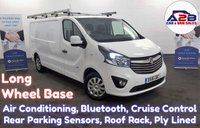 2016 VAUXHALL VIVARO 1.6 CDTI 2900 SPORTIVE Long Wheel Base with Air Conditioning, Bluetooth, Cruise Control, Roof Rack, Rear Parking Sensors and more £9980.00