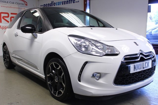 2011 11 CITROEN DS3 1.6 E-HDI DSTYLE PLUS 3d 90 BHP
