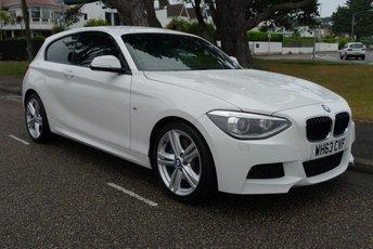 2014 BMW 1 SERIES 2.0 120D M SPORT 3d 181 BHP £9550.00