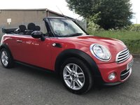 2012 MINI CONVERTIBLE 1.6 COOPER D CONVERTIBLE OVER £3000 OF OPTIONS STUNNING  £6995.00