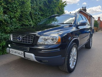 2010 VOLVO XC90 3.2 PETROL EXECUTIVE AUTO  UK CAR - FULL VOLVO SERVICE HISTORY - ULEZ COMPLIANT,  ELECTRIC MEMORY DRIVER & PASSENGER SEATS, VENTILATED & MASSAGING FRONT SEATS, HEATED FRONT & REAR SEATS, SATELLITE NAVIGATION, BLIND SPOT ASSISTANCE, DYNAUDIO STEREO UPGRADE £12990.00