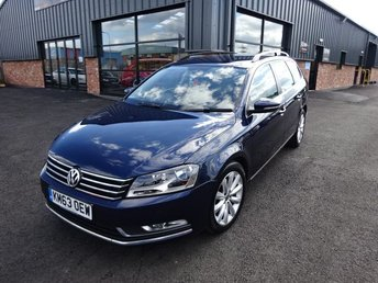 2013 VOLKSWAGEN PASSAT 2.0 HIGHLINE TDI BLUEMOTION TECHNOLOGY 5d 139 BHP £7390.00