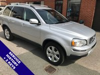 """USED 2010 60 VOLVO XC90 2.4 D5 SE LUX AWD 5DOOR AUTO 185 BHP Family 7-Seater    :    AUX Socket    :    Cruise Control    :    Heated & Electric Front Seats      Full Black Leather Upholstery           :           Split Tailgate           :           Rear Parking Sensors        18"""" Alloy Wheels    :    Service History"""