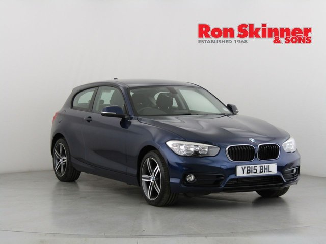 View our 2015 15 BMW 1 SERIES 1.5 116D SPORT 3d 114 BHP